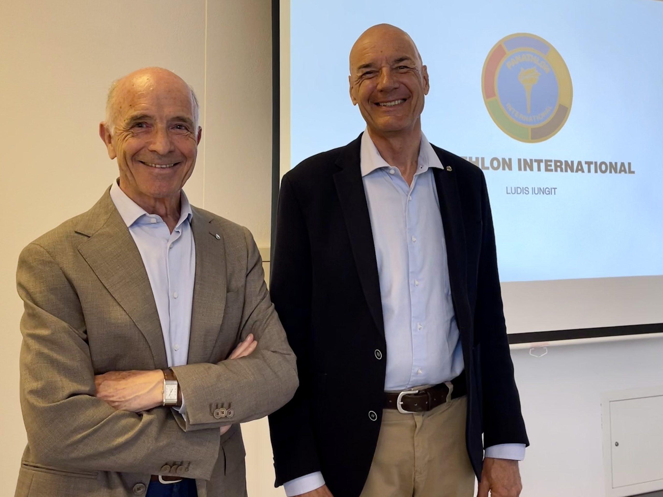 Pierre Zappeli et Philippe Cottet le 26 avril 2021 à Lausanne
