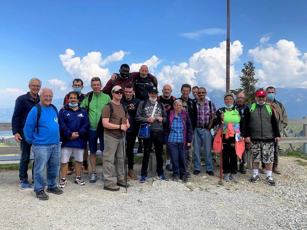 Sortie du Panathlon Lausanne au Moléson le 4 septembre 2021